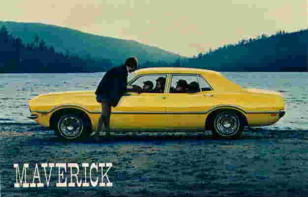 Mave A on 1970 Ford Maverick